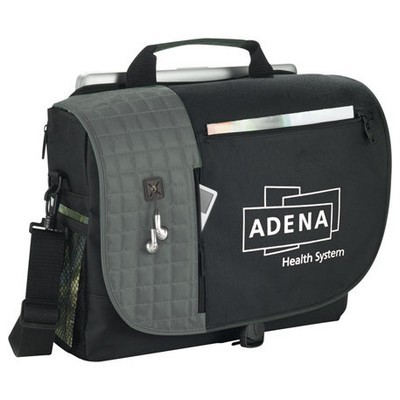 Custom Branded Checkpoint-Friendly Messenger Bag