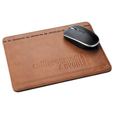 Custom Branded Leather Mouse Pad