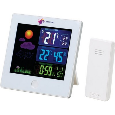 Custom Imprinted Weather Station with Clock