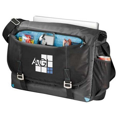 Custom Branded Checkpoint Friendly Compu-Messenger Bag