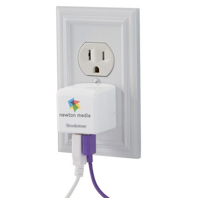 Printed Travel 3.4 USB Charger