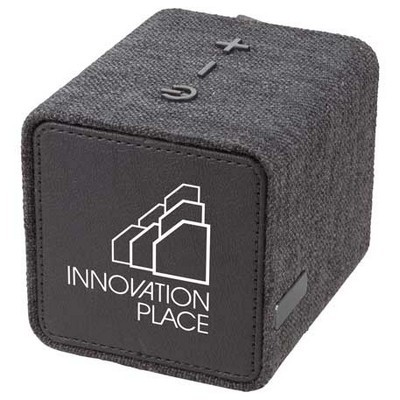Fabric Bluetooth Speaker with Logo