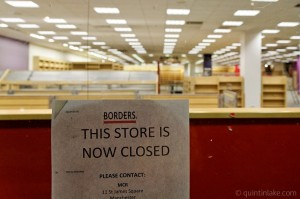 Management strategies from Borders Bankruptcy