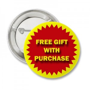 Increase loyalty at retail with gift with purchase