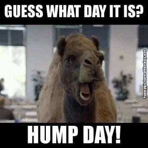 use Hump Day to review your weekly sales results