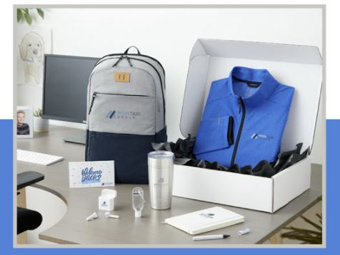 branded employee welcome kits