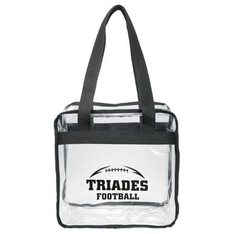 promotional clear stadium bag
