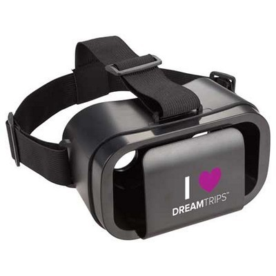 Virtual Reality Headset with Logo