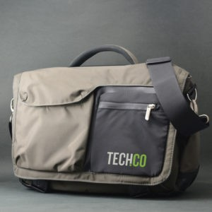 Messenger Bag with Logo