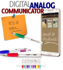 Promotional Stylus Pens: Analaog Gifts for a Digital World