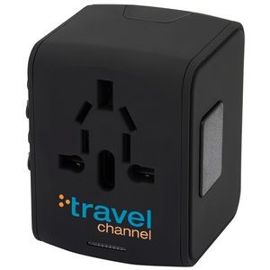 Universal Travel 4 USB Port Adapter