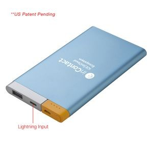 UL Certified 5,000 mAh Two Tone Power Bank ** US Patent Pending