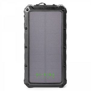 SUPER OFF-ROAD 12,000 mAh SOLAR WIRELESS POWER BANK INCLUDES UL CERTIFIED BATTERY
