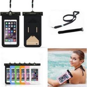Snap & Lock Waterproof Phone Bag With Armband
